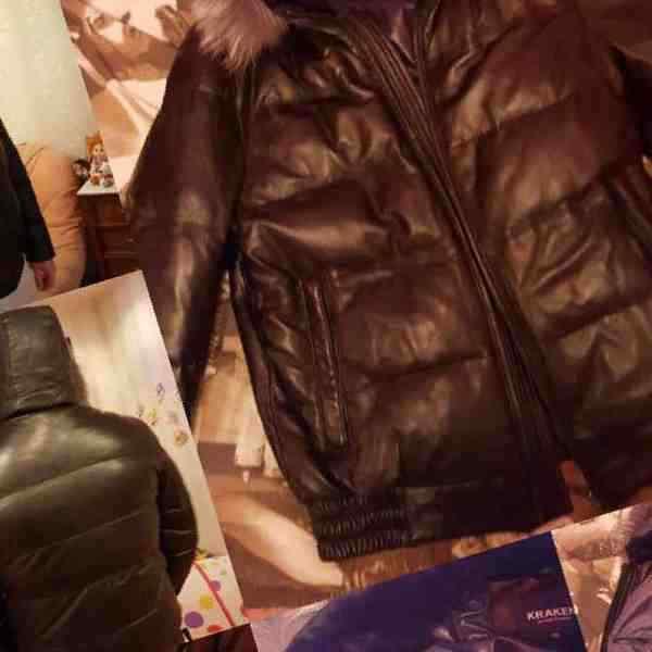 0af3bf9deb5 Купить в Норильске  Продам новую кожаную мужскую куртку с мехом