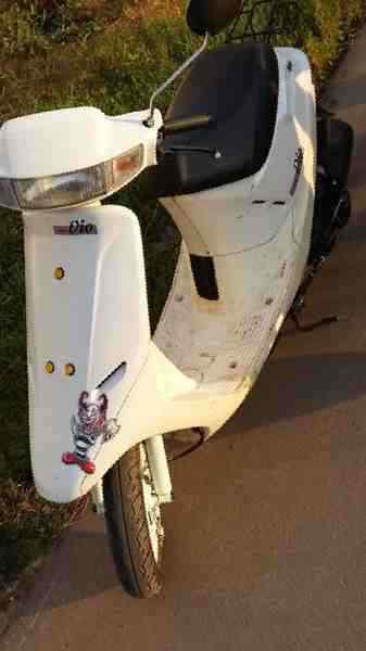 Скутер Honda Dio AF 18 - фото, описание, технические ...   600x337