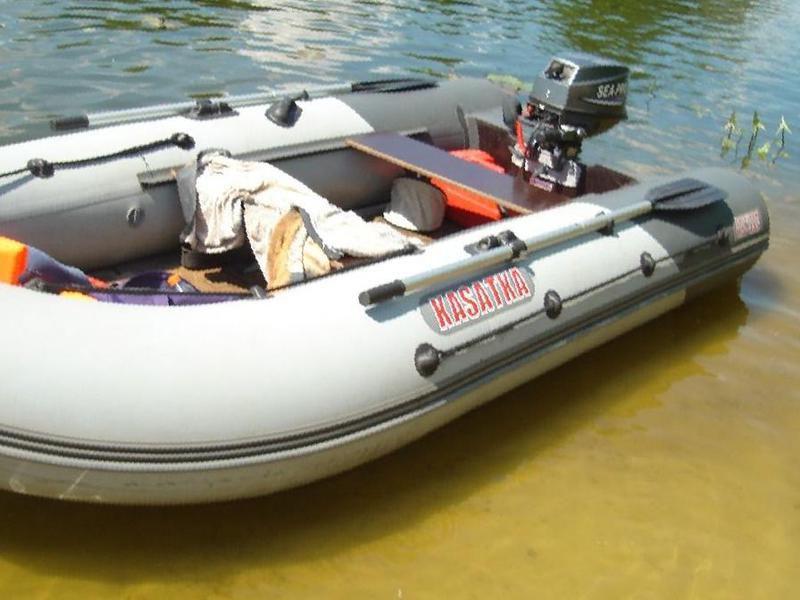 Продажа лодки пвх касатка 335