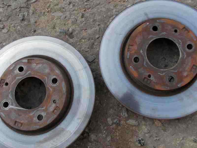 mitsubishi lancer 9 тормозные диски