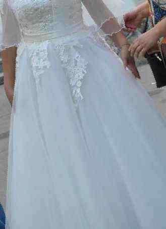 bf9155af14db0f2 Купить в Кызыле: Свадебное платье, б/у , цена 20000 рублей ...