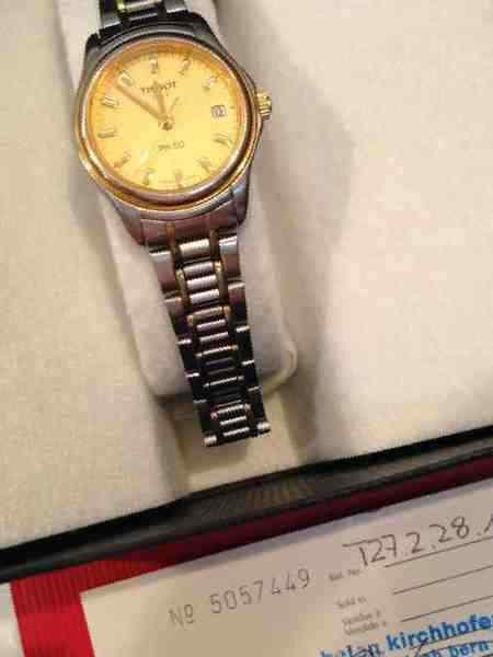 7801ed7b5099 Купить в Челябинске  Швейцарские женские часы Tissot PR50 quartz ...