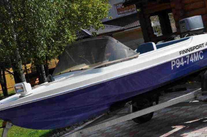 лодка финнспорт 425