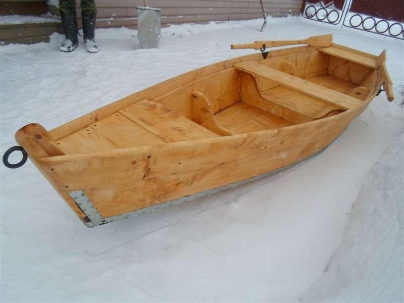 Деревянные лодки в россии