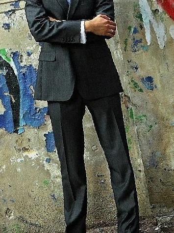 c269d72d5518 Купить в Владимире: Мужской костюм ramsey серый , цена 4930 рублей –  объявления Владимира