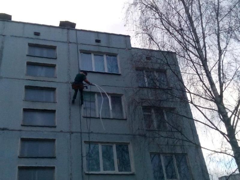 Услуги альпинистов промышленных в москве