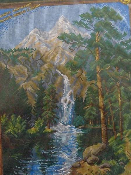 Вышивка водопад от юноны 32