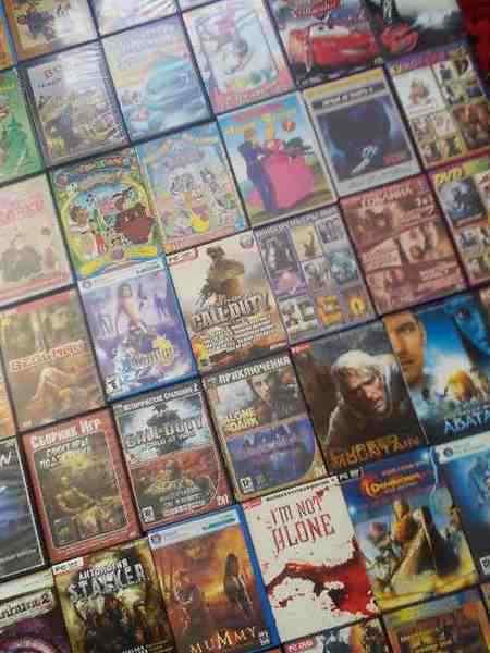 купить в щекино Dvd диски игры фильмы мульты и музыка
