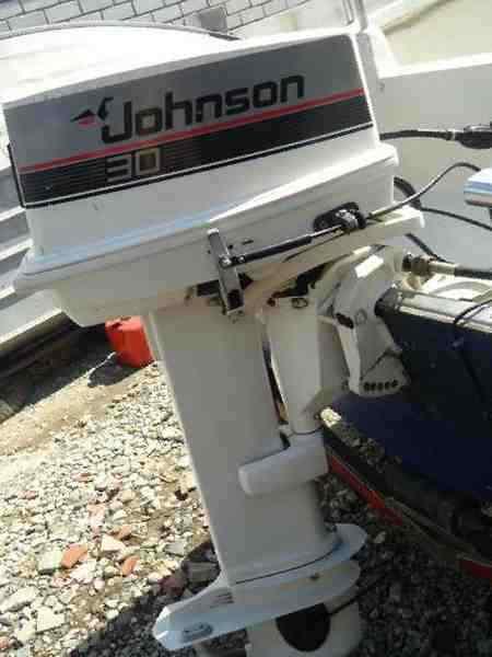 двигатели для лодок джонсон