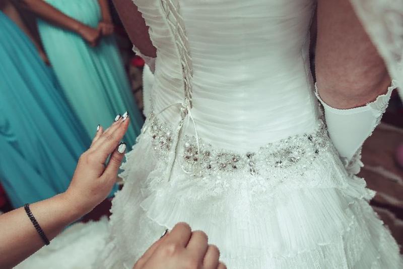 3ecd5dc1bb6 Купить в Небуге  Свадебное платье с шикарным шлейфом