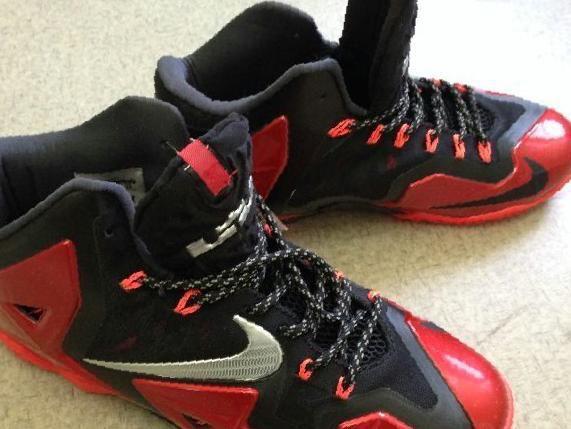 2e6677df Купить в Тельмане: Баскетбольные кроссовки Nike Lebron XI , цена ...