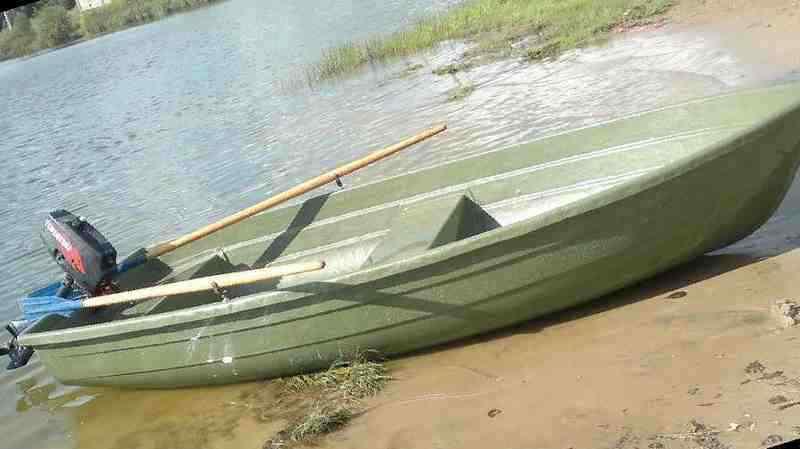 купить лодку из пластика в интернет магазине