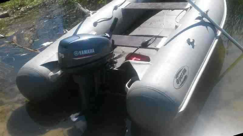 купить мотором ямаха на лодку пвх бу в москве