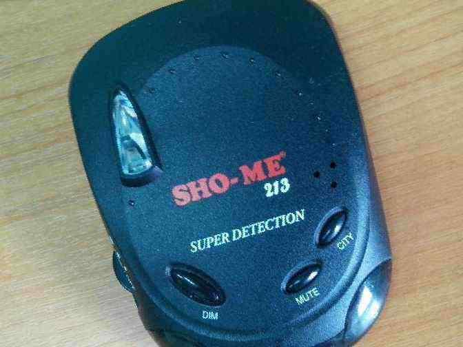 Sho-Me 213 Super Detection Инструкция