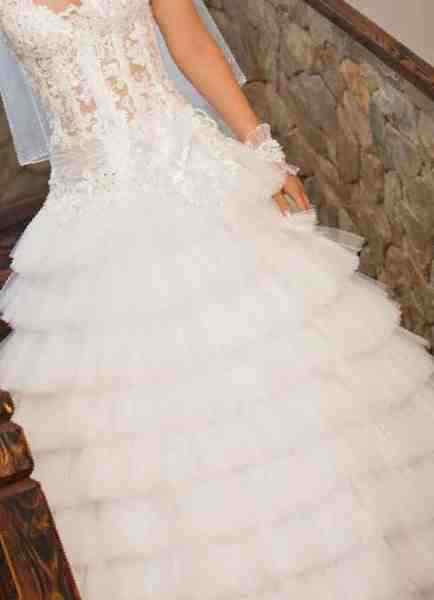 0ed9acd2246 Купить в Бийске  Свадебное платье в отличном состоянии