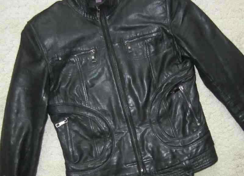 Купить Кожаную Куртку 44 Размера
