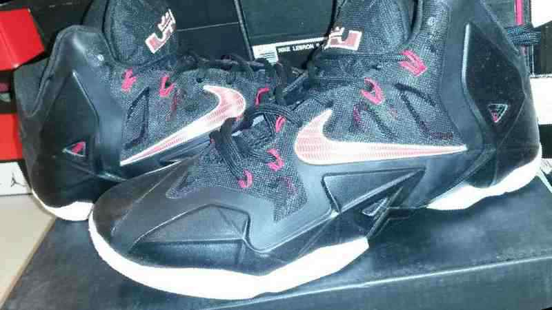 070955e6 Купить в Уфе: Баскетбольные кроссовки Nike Lebron 11, б/у , цена ...