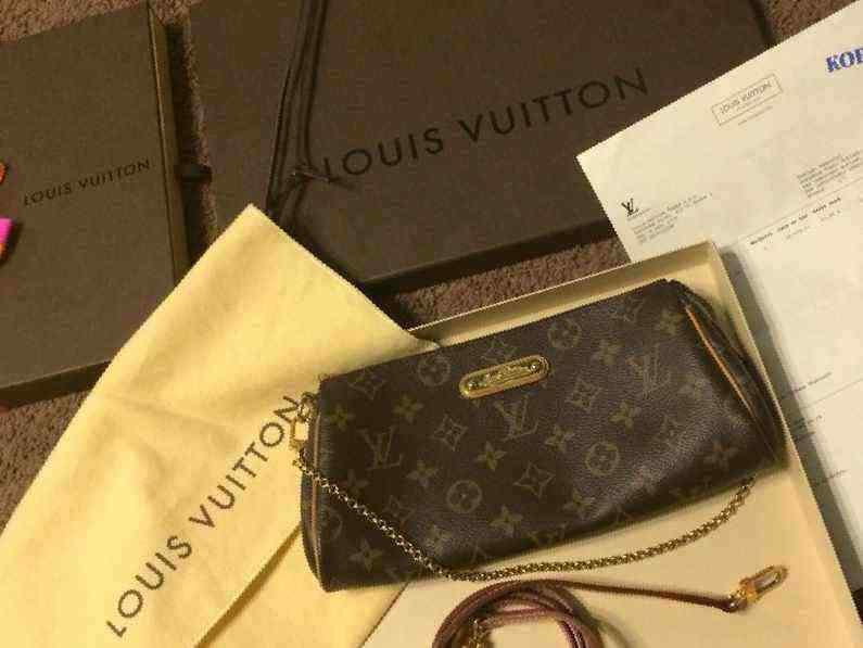 92917c2ec27e Купить в Санкт-Петербурге  Сумка Louis Vuitton Eva оригинал, б у ...