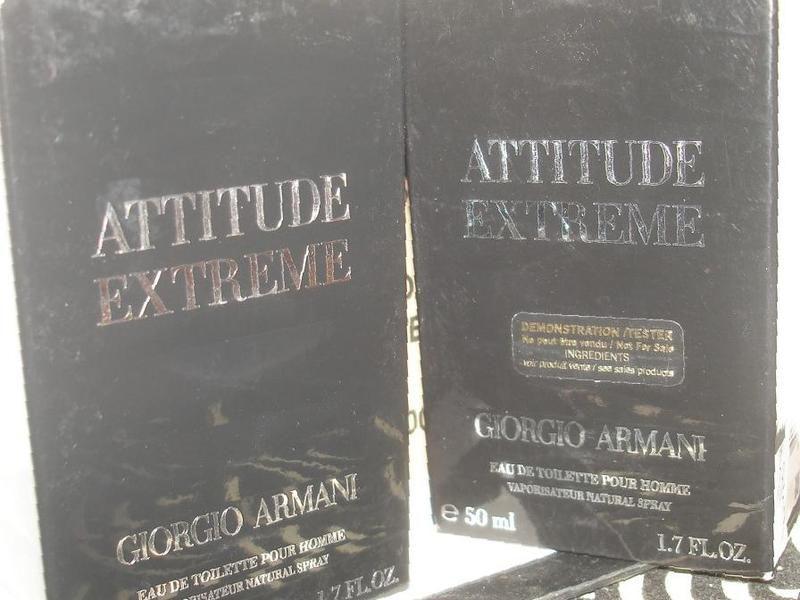 купить в любани тетер Giorgio Armani Attitude Extreme 50ml Edt