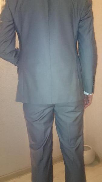 fb0b91bebe85 Купить в Исламее: Костюм мужской стильный серого цвета , цена 6050 рублей –  объявления Исламея